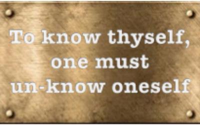 Un-know thyself