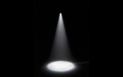 Pay attention on where you are aiming your spotlight